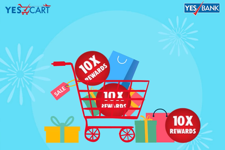 10X rewards on Yes Bank Credit Cards using Yes Cart