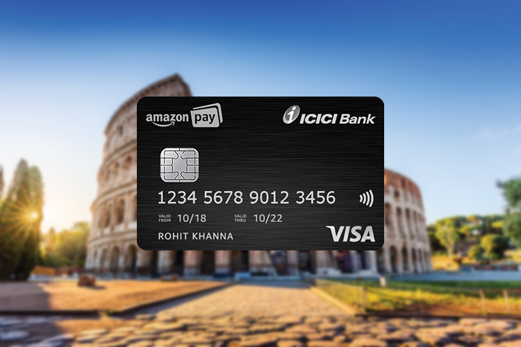 Amazon Pay ICICI Bank Credit Card International Spends Offer