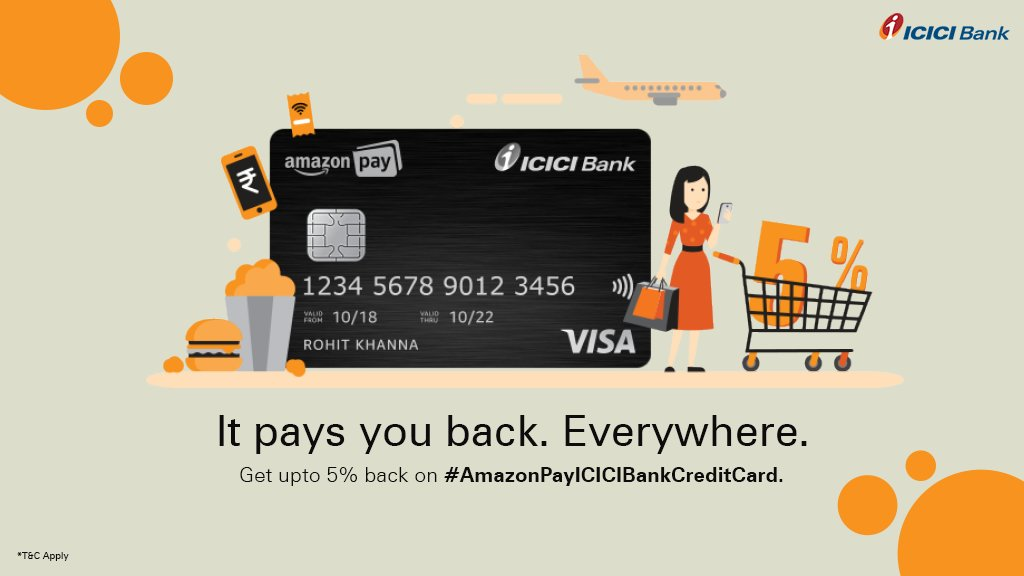 Amazon Pay ICICI Bank Credit Card Rewards