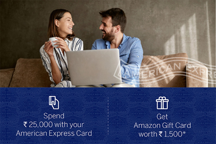 Amex spends based offer: Amazon vouchers up for grabs