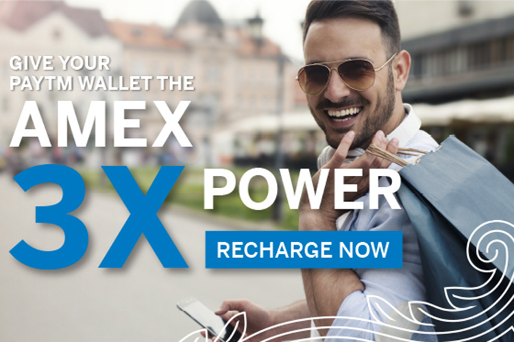 Amex Offer: 3X Membership Reward Points on Paytm wallet recharge