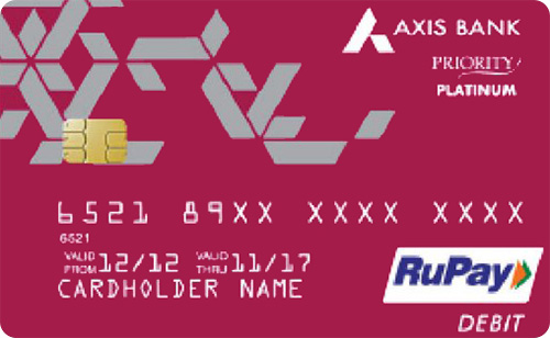 axis bank rupay platinum debit card features
