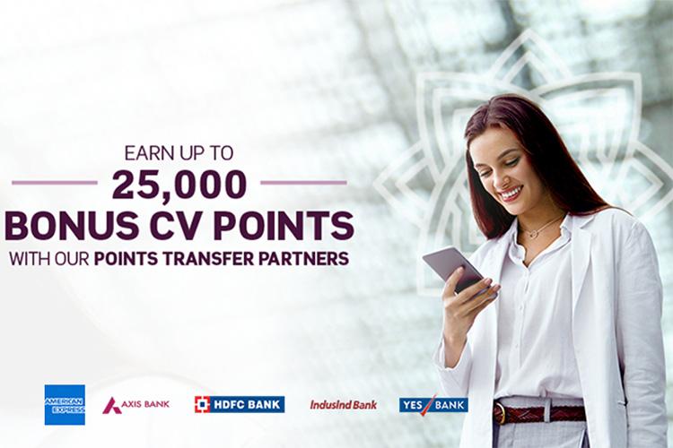 Club Vistara Offer: 50% bonus CV Points on transfer