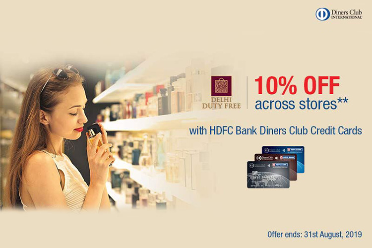 Save more using credit card offers at Duty Free Stores