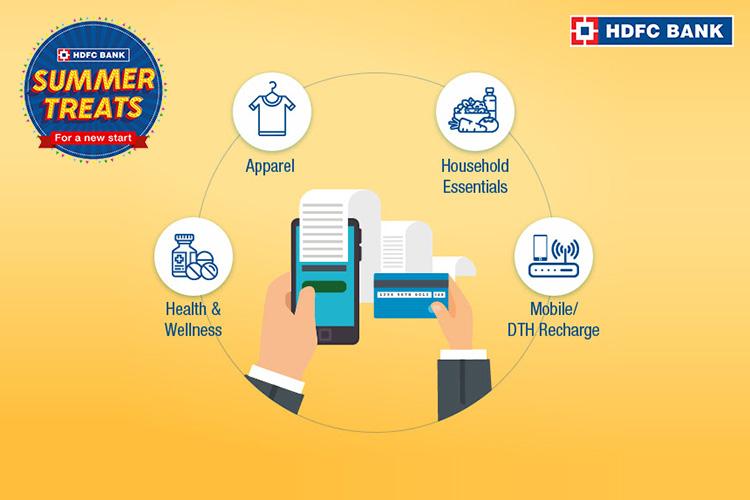 HDFC Bank Credit Cards spend based targeted offer: June 2020