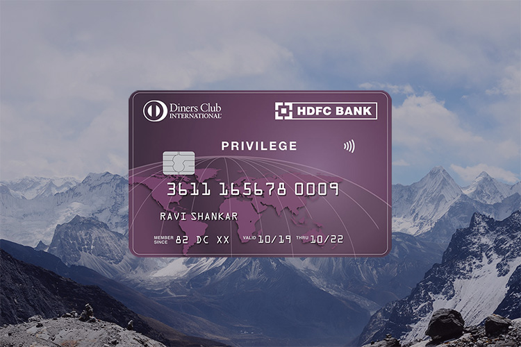 HDFC launches Diners Club Privilege Credit Card - Review