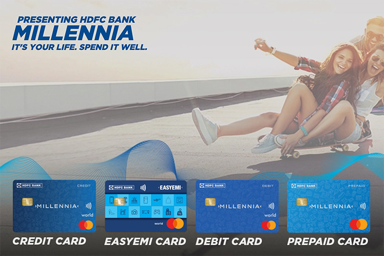 HDFC Bank Millennia Cards launched