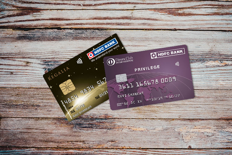HDFC Bank Regalia vs Diners Club Privilege Credit Card: A comparison