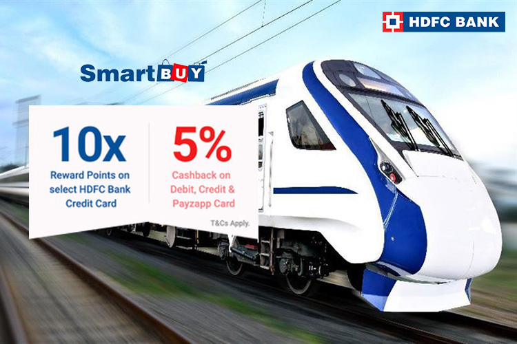 10X Rewards on Train Tickets using HDFC Bank Credit Cards