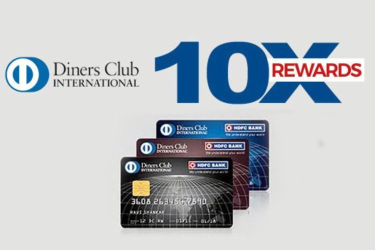 HDFC Diners Club Credit Cards 10X rewards: July 2019 update