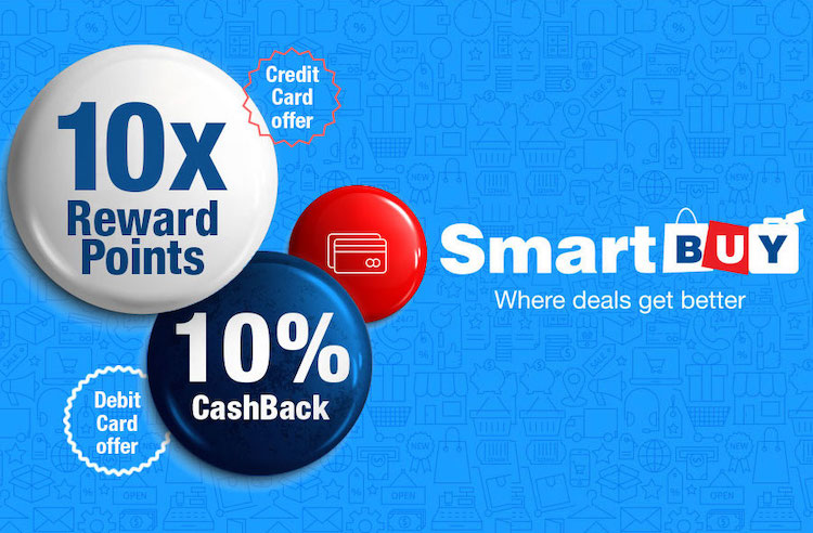 HDFC Smartbuy 10X rewards extended till 30 April 2019