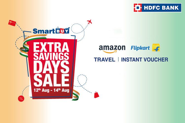 HDFC SmartBuy announces Extra Savings Days Sale