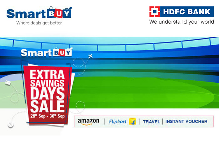HDFC SmartBuy Extra Savings Days Sale is back in September 2020