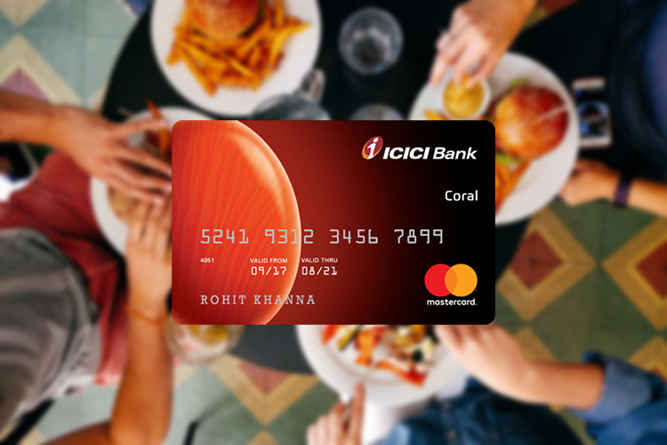 ICICI Bank Coral Credit Card against Fixed Deposit: An experience