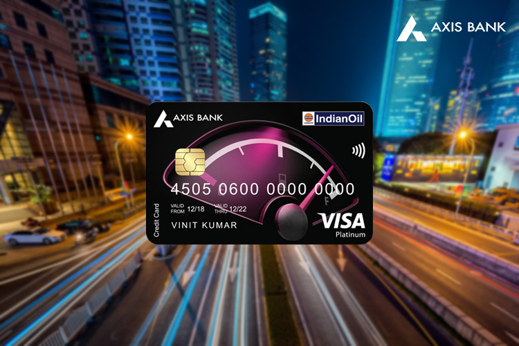 Indian Oil Axis Bank Credit Card Launched - Review