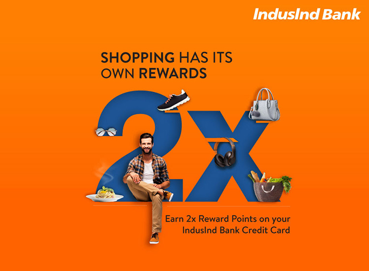 2X rewards on IndusInd Bank Credit Cards: July 2020