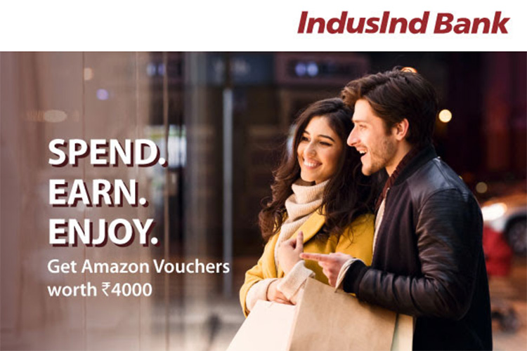 IndusInd Iconia & Celesta Amex Offer: Amazon vouchers up for grabs