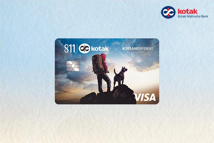Kotak Launches 811 #DreamDifferent Credit Card