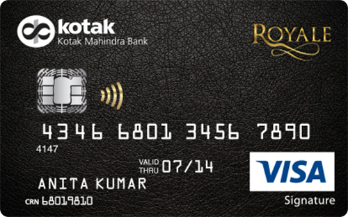Kotak royale signature credit card reward points value