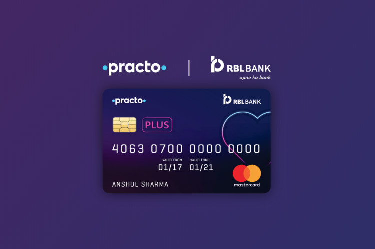 RBL Bank Practo Plus Credit Card launched