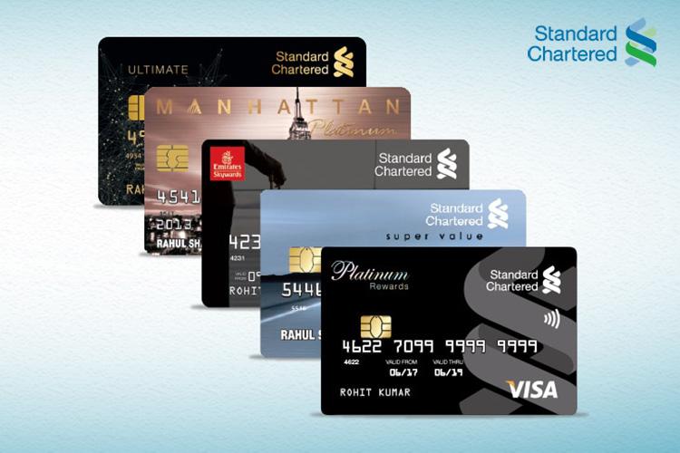 Standard Chartered Credit Card spend based offers - November 2019