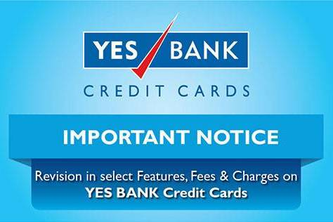 Yes Bank Credit Cards rewards reduced