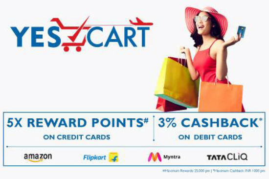 Yes Bank launches Yes Cart, a compare and buy portal for Yes Bank Cards